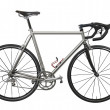 Isolated lightweight race bicycle — 图库照片