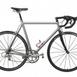 Isolated lightweight race bicycle — Stockfoto