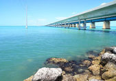 Seven mile bridge - 2 — 图库照片