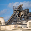 Stock Photo: Asphalt Processing Plant