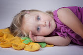 Sleepy kid — Stock Photo