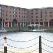 Historic Albert Dock Buildings in Liverpool — Stock Photo
