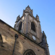 St Nicholas Church in Liverpool - Stock Photo