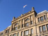 Estación de cambio histórico edificio en liverpool — Foto de Stock