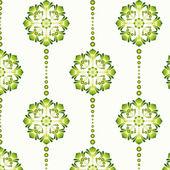 Floral Vintage Wallpaper (Vector) — Stock Vector