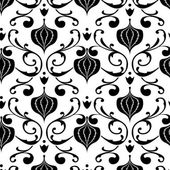 Floral Pattern Background — Stockvektor