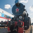 Retro soviet train — Stock Photo #2706135
