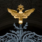 symbol ruské říše — Stock fotografie