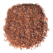 African red Rooibos tea leaves — Stock Photo