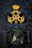 корона российской империи — Стоковое фото