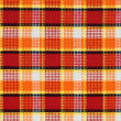 Plaid fabric pattern — Stock Photo