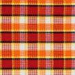Plaid fabric pattern — Stock Photo