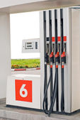 Petrol pumps — Stock Photo