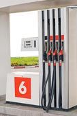 Petrol pumps — Stock Photo