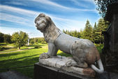 Park imperial lion — Stock Photo