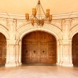 Three Majestic Classic Arched Doors — Stock Photo