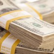 Stacks of Thousand of Dollars — Stockfoto