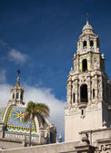 The Tower Dome at Balboa Park, San Diego — Stock Photo