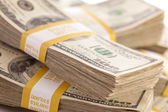 Stacks of Thousand of Dollars — Stock Photo