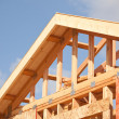 Abstract of Home Construction Framing — Stock Photo #3187115