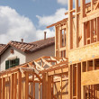 Royalty-Free Stock Photo: New Home Construction Framing