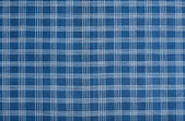 棉蓝色和白色的条纹的背景 — 图库照片