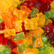 Stock Photo: Colorful gummy bears