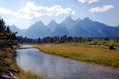 Grand Teton National Park scenery — Stock Photo