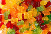 Colorful gummy bears — Stock Photo