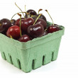 Dark red cherries — Stock Photo