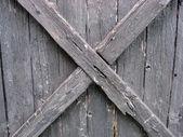 Plot zvětralé dřevo — Stock fotografie
