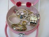 Jewelry box isolated on white — Stock Photo