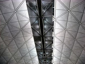 Ceiling of Hong Kong Airport — Stock Photo