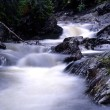 Flowing water of mountain stream — Stock Photo #3254076