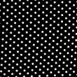 Black and white dots background — Stock Photo