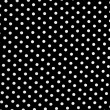Stock Photo: Black and white dots background