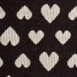 Royalty-Free Stock Photo: Texture of heart shaped fabric