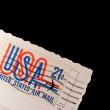 The postmark of USA — Stock Photo