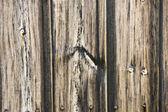 Staket trä bakgrund — Stockfoto