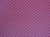 Texture of red fabric background — Stock Photo
