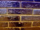 多彩的大理石砖墙背景 — 图库照片