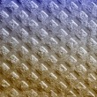 Texture of yellow fabric — Stock Photo
