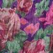 Royalty-Free Stock Photo: Colorful floral fabric background
