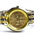 Foto Stock: Gold Wristwatch