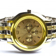 Stock Photo: Gold Wristwatch