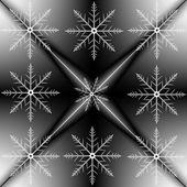 美しい雪の背景 — ストック写真