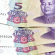 Background of chinese money — Foto de stock #3822154