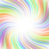 Beautiful rainbow swirl background — Stock Photo