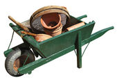 Wheelbarrow — Stockfoto