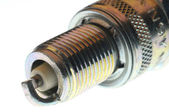 Spark plug close up — Stockfoto
